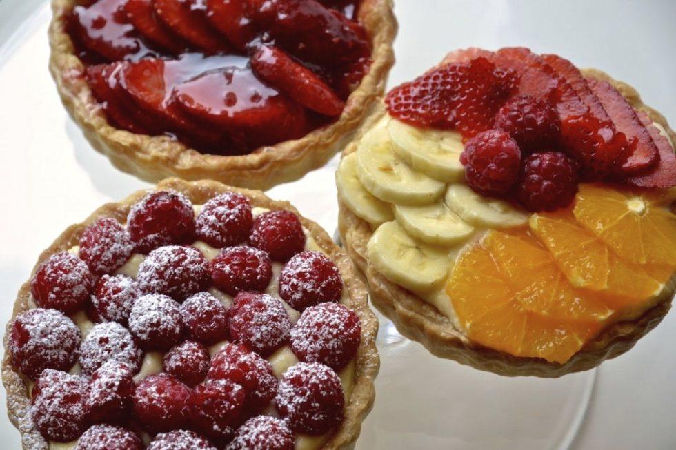 Tarteletas de frutas
