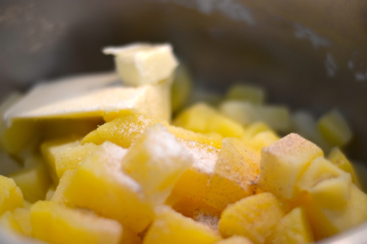 Salchichas de carnicer a pur de patata natural paloma de la rica - Prensa patatas ...