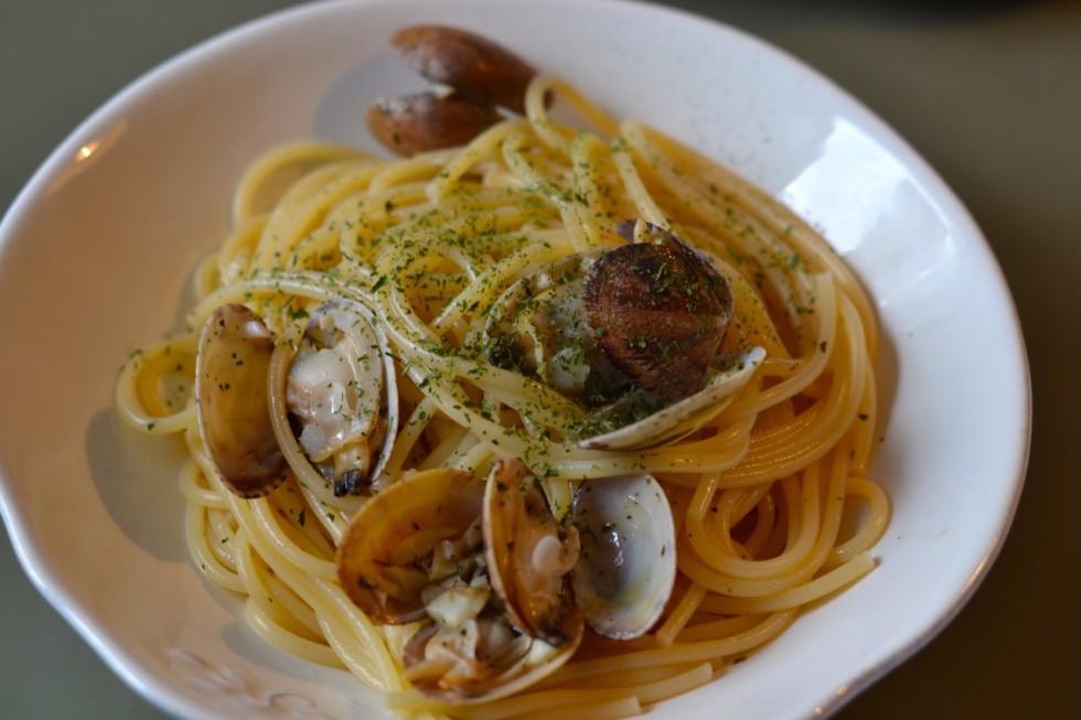 Spaguetti alle vongole