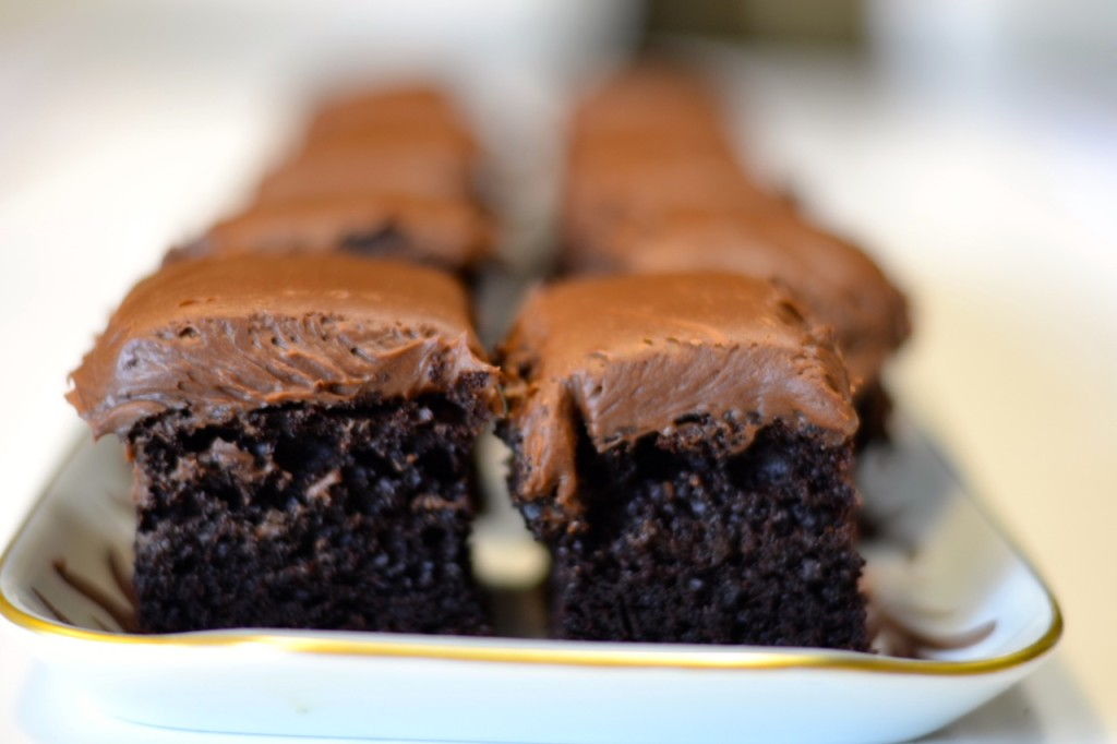 Cake de chocolate y yogurt