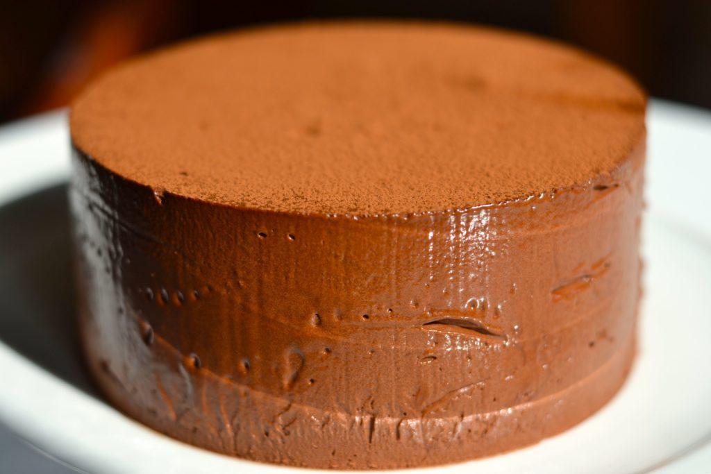 Fondant de chocolate negro