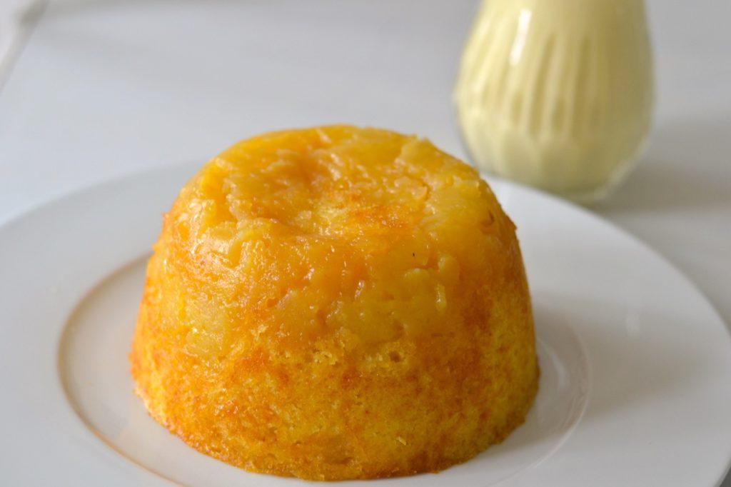 Pudding de pera
