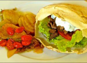 Shawarma de carne