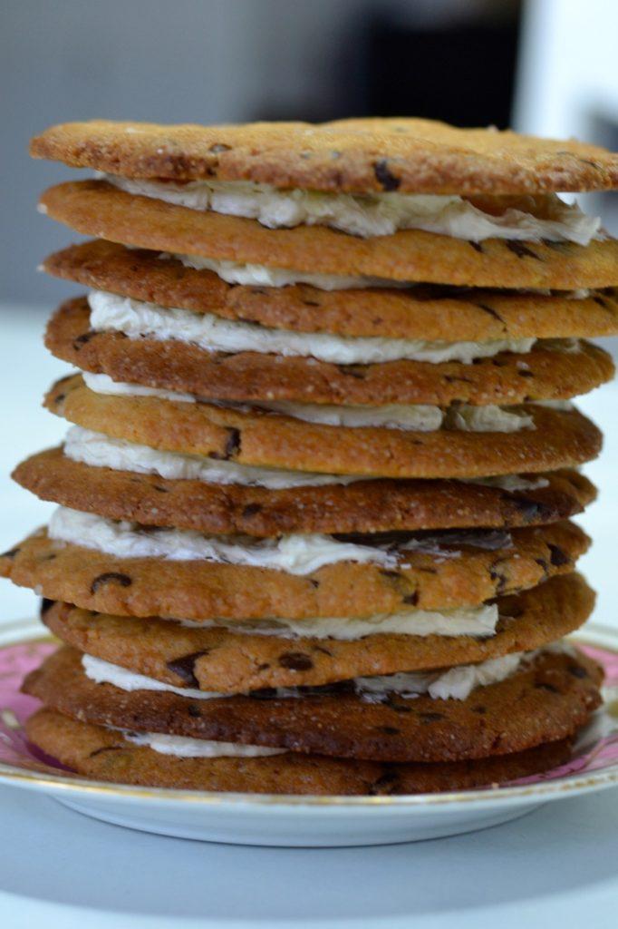 Tarta de cookies