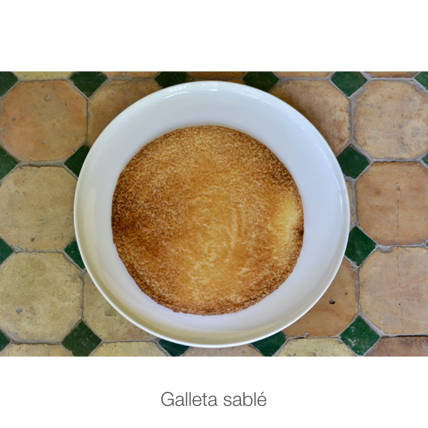 Galleta sablé