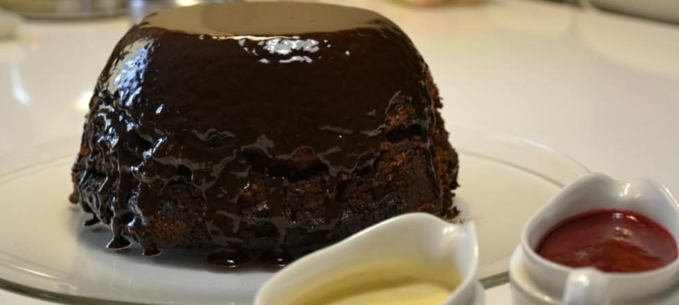 Pudding de chocolate