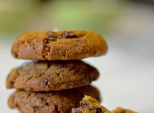 Cookies con chocolate y sal maldon