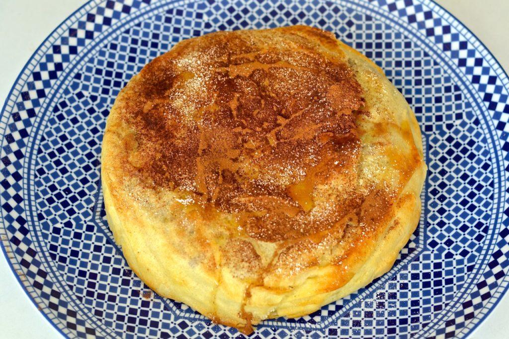 Pastella de pollo marroquí